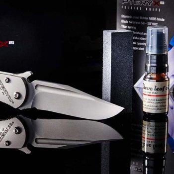Pteryx s doplnkami na údržbu | PTERYX Knife