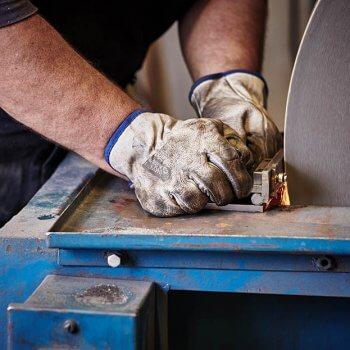 Ručná výroba noža Pteryx L2
