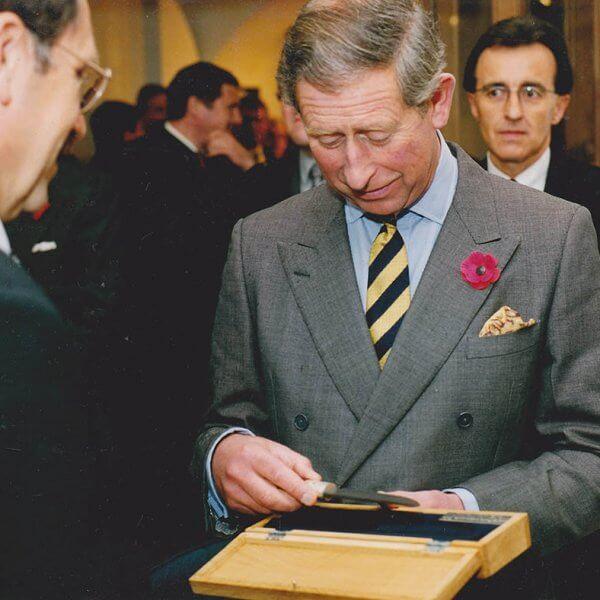 Sir Charles - hrdý majiteľ noža z dielne Majstra Laskyho